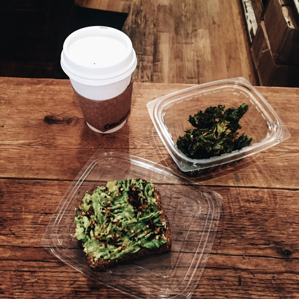 Killin' it with the raw/vegan food choices at Simple Life.