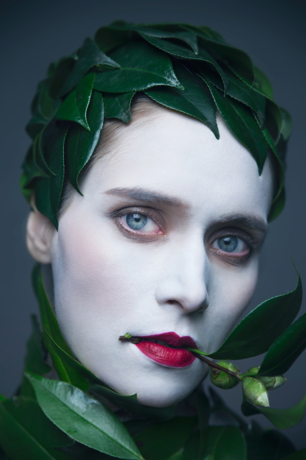 GREEN FANTASY MODEL   Marina MAKEUP   Ryan Han