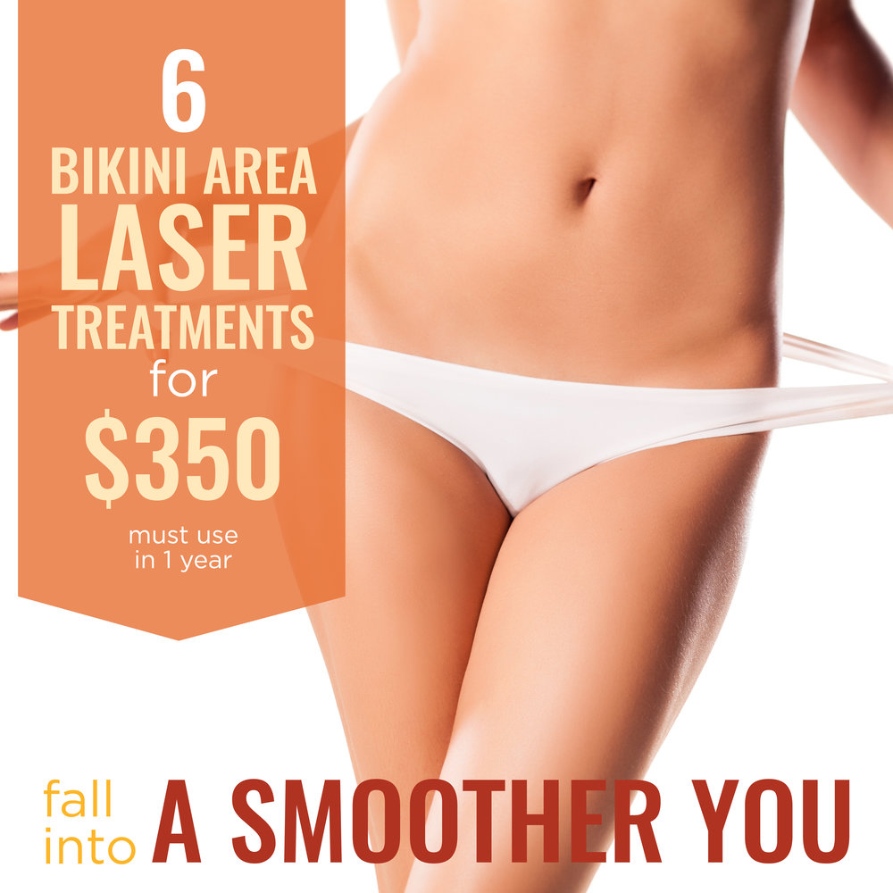 Laser hair removal specials in San Antonio at Anew You Med Spa with Dr. Sherry.