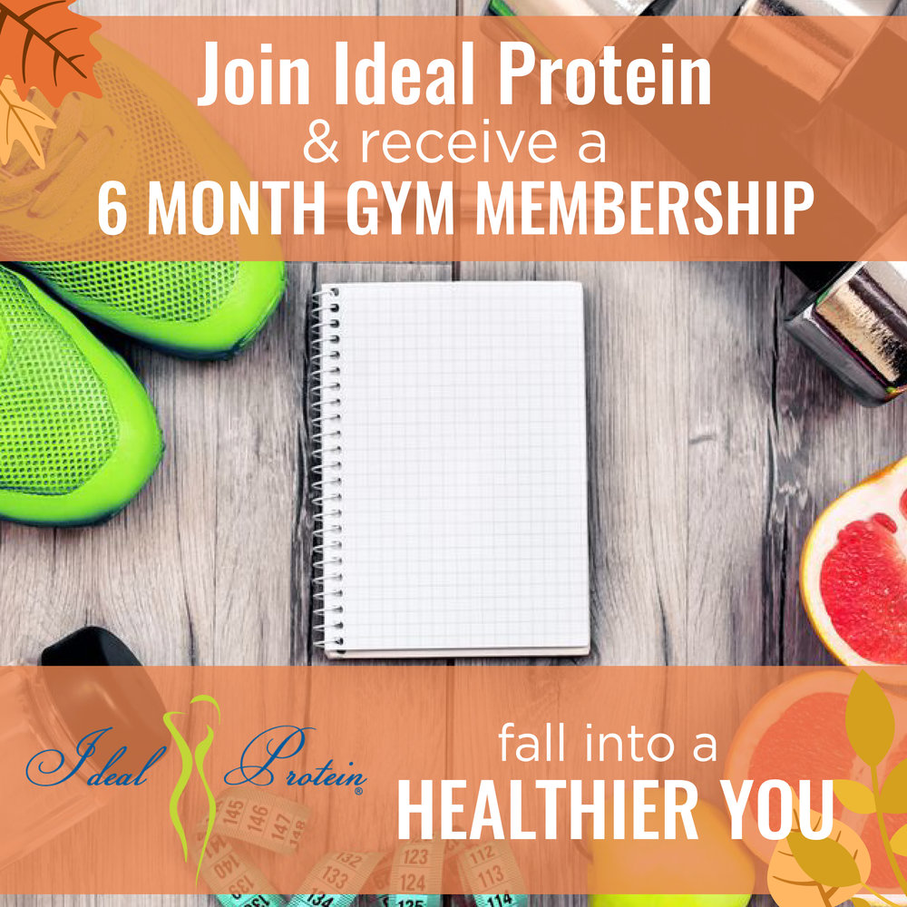 Ideal protein & gym membership specials in San Antonio at Anew You!