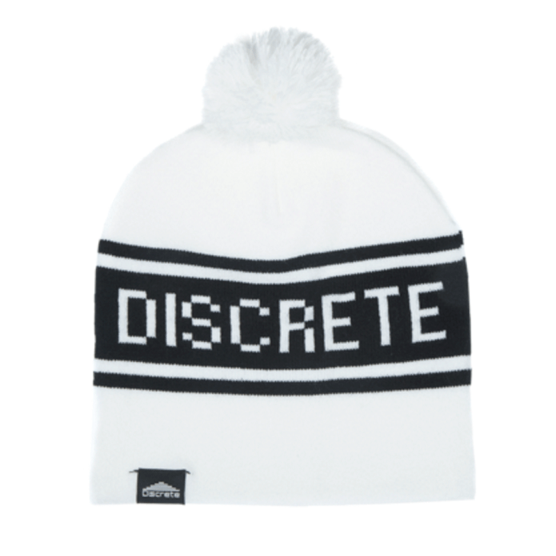 "Discrete ""Banger"" Beanie Founded in 2005 by pro freerider Julian Carr, the Discrete Banger Beanie is one of those mysterious and ""insider"" items we've been seeing all across ski areas this year, like a secret society. Discrete has been gaining more traction with a full product line that includes jackets and clothing, but you can't deny the original beanie for its simplicity and status. Available in 9 color combinations. $20, Discrete Clothing"