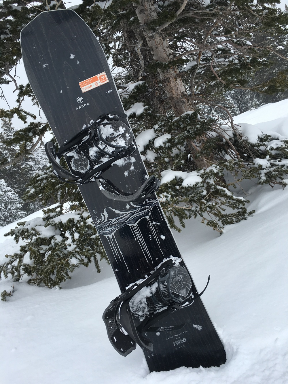 ARBOR BRYAN IGUCHI PRO MODEL, $595, WITH CYPRESS BINDINGS, $TBD