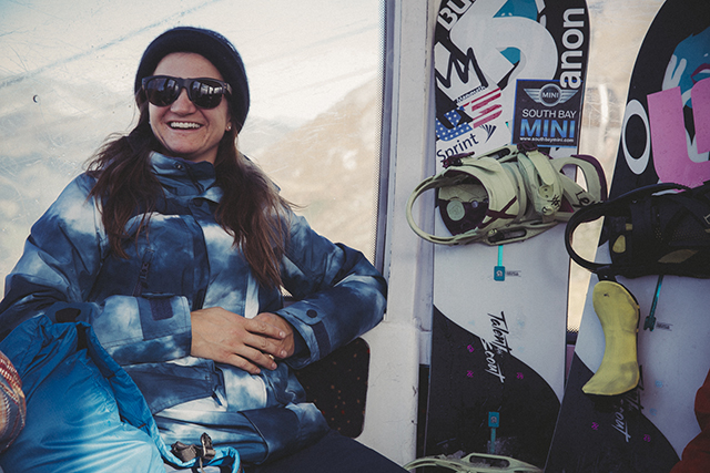 Gold Medalist Kelly Clark is the most decorated snowboarder of all time.