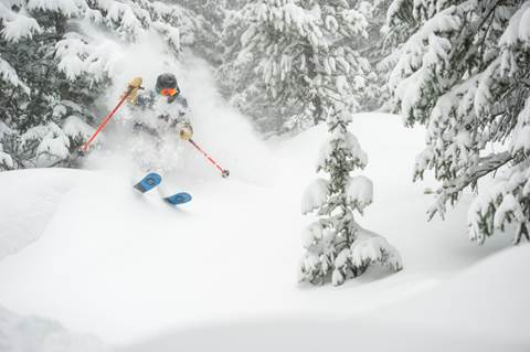 Breckenridge, Colorado, was buried under seven-plus feet of snow in March.
