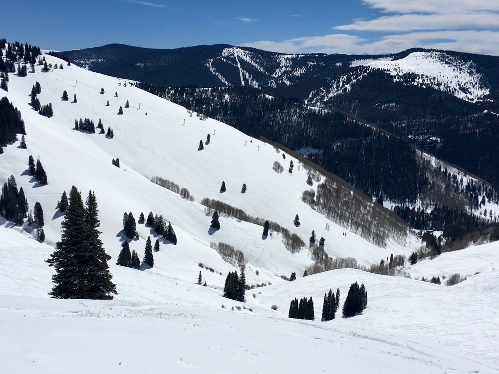 Vail's Sun Down Bowl will be open until April 17.