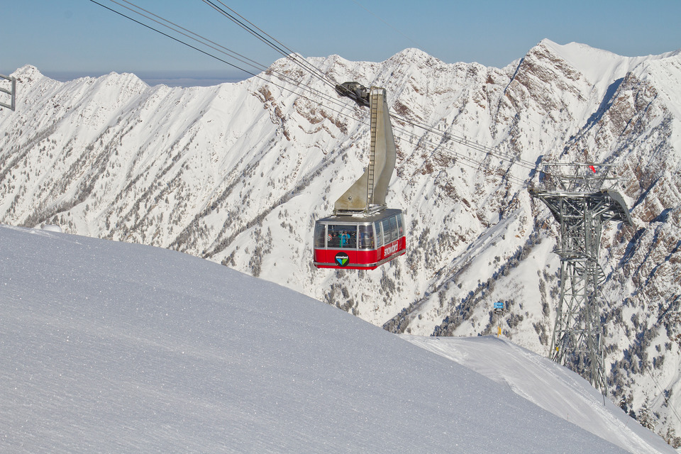 Snowbird's Aerial Tram is closed while the resort makes repairs. (Matt Crawley)