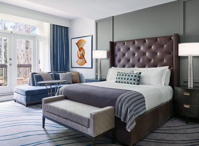 A guestroom at Hotel Talisa PHOTO COURTESY HOTEL TALISA