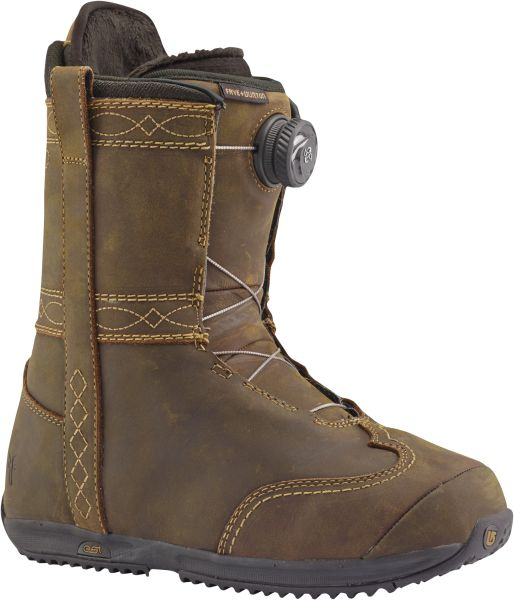 Burton x Frye Women's Speedzone Boot, $499, Burton.com .Courtesy Burton
