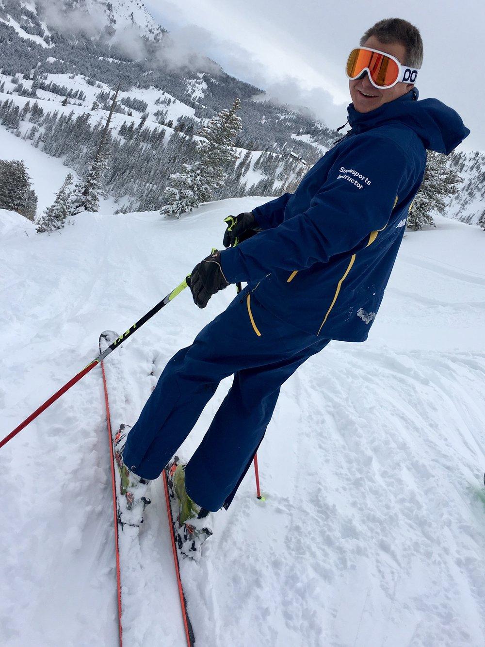 Solitude Mountain Resort Hidden Tracks guide Gregg Griffiths. (@BeingAlexP)