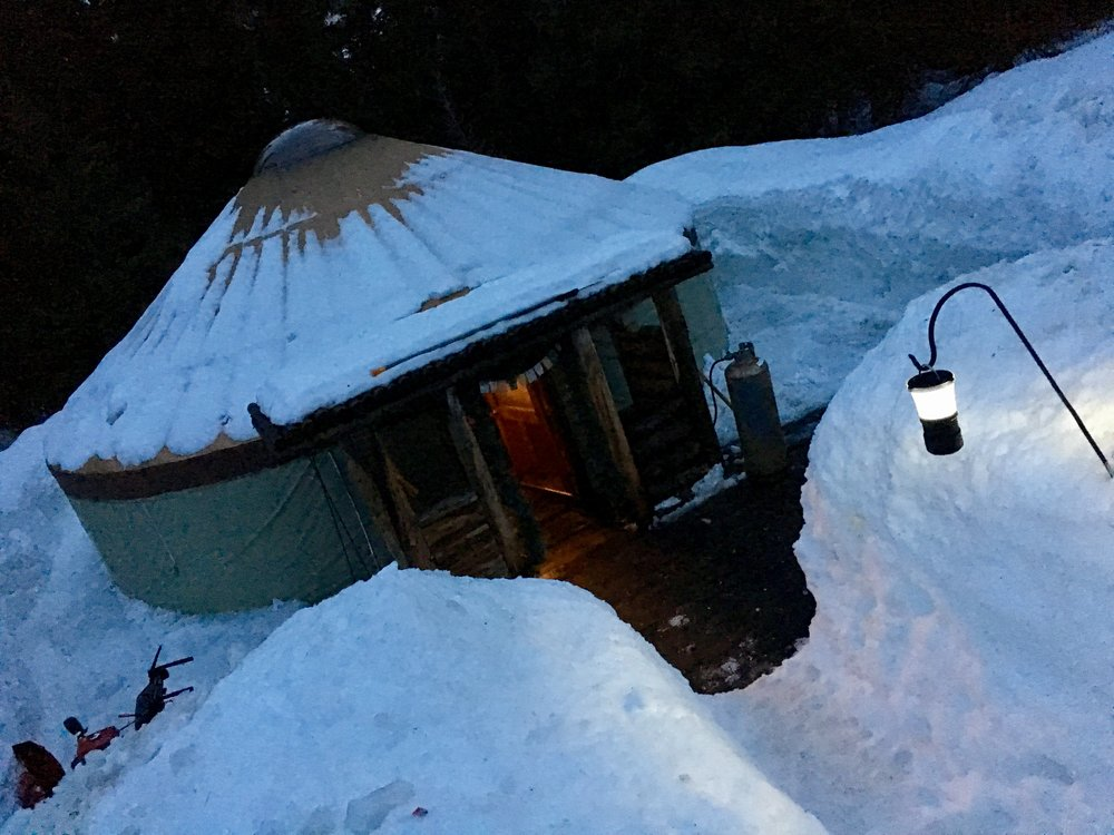 Slide into The Yurt at Solitude for a five-course feast by chef Craig Gerome. (@BeingAlexP)