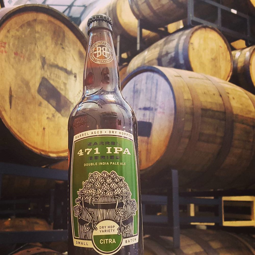 The next variety in our Barrel Aged 471 series is ready - Barrel Aged 471 Citra! We take our 471 Double IPA and rest it in whiskey barrels to add a deep, sweet, oak character then we dry-hop each batch with a different hop varietal. Citra hops will add a smooth floral and citrus brightness to this heavy hitter. Barrel Aged 471 Citra will be hitting store shelves soon. Check out breckbrew.com/beer-locator to find the closest locations to you! #471 #471DoubleIPA #IPA #barrelaged#471series #citra #hops bit.ly/ba471citra