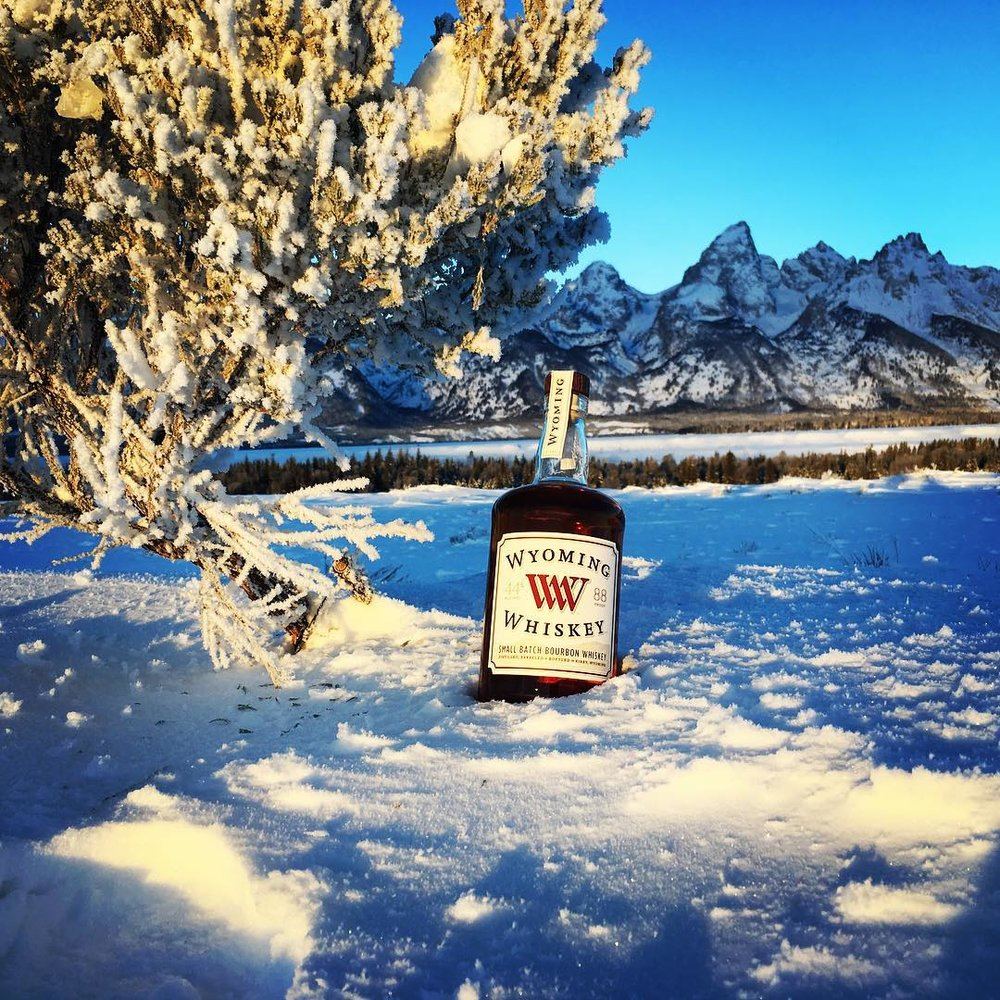 We hope Santa left something nice under your tree. #jacksonhole #wyoming#tetons #bourbon #whiskey #itwas24belowzero