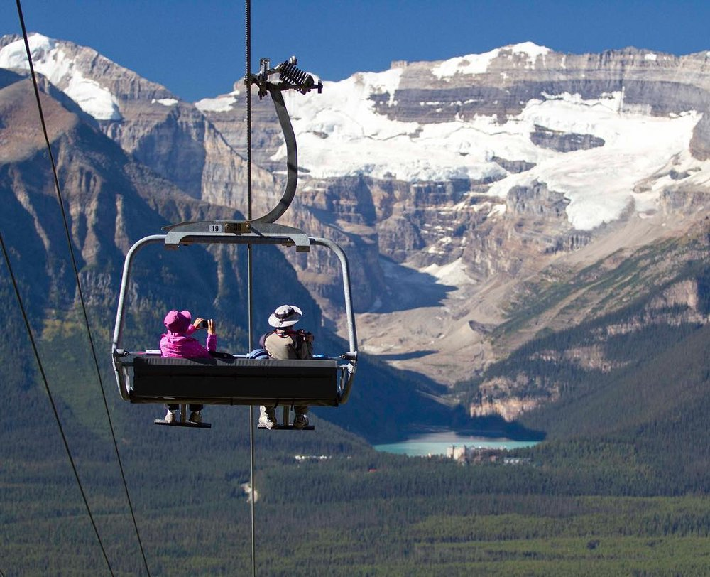Banff & Lake Louise in the Canadian Rockies.