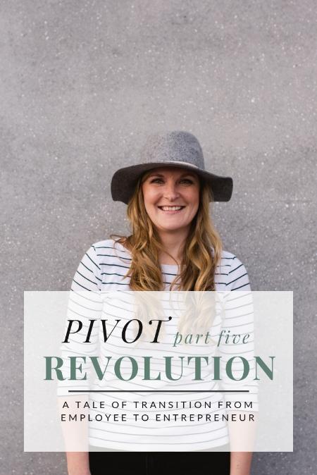 PIVOT: Revolution by Christine Barnes