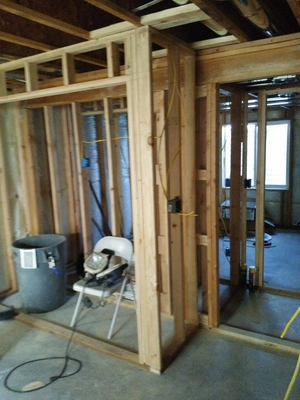 House To HOME Construction Can Simply Do The Framing For Your Projects.  Framing A Room Properly Is A Critical Step In The Outcome Of The Design.