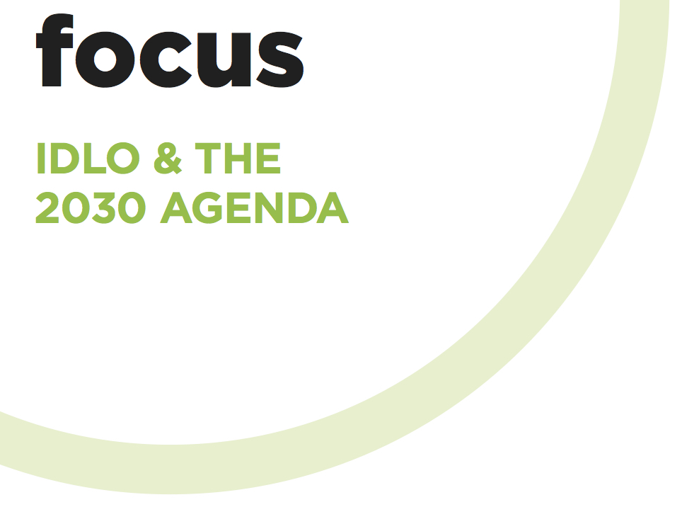 Read more about IDLO's work on the 2030 Agenda