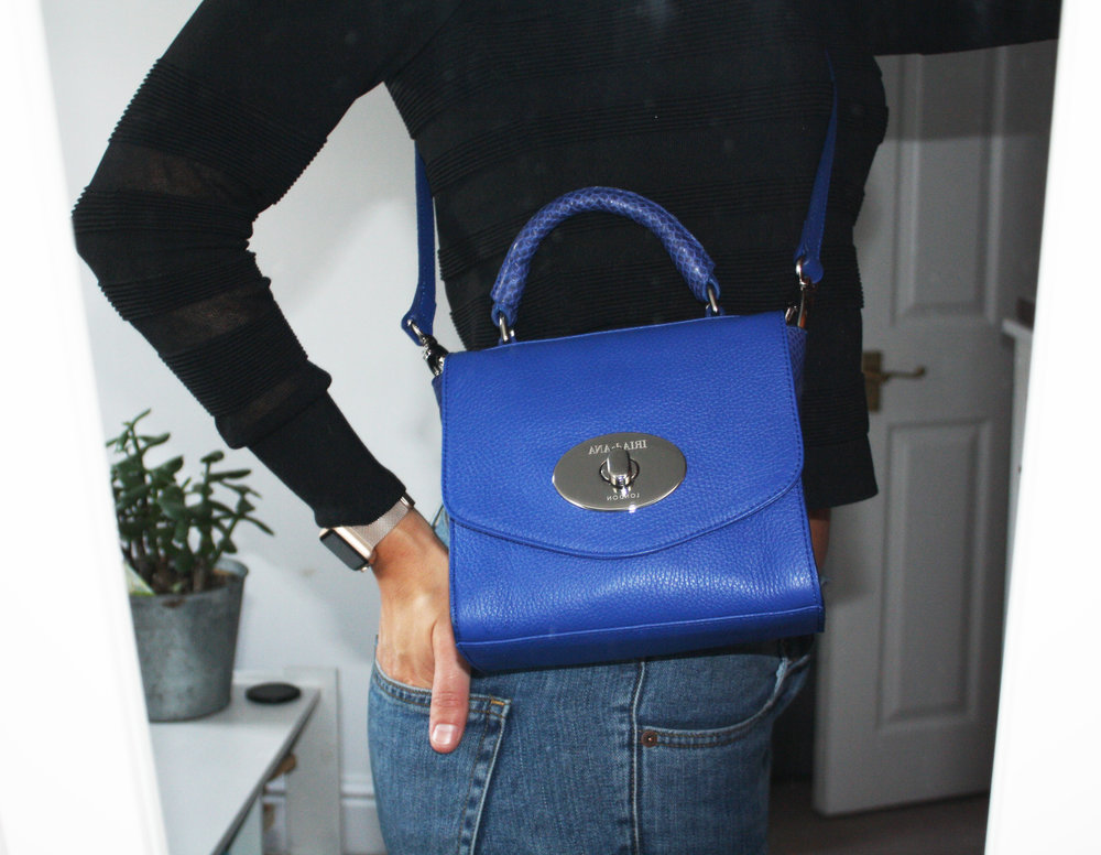 Matilda bag in blue