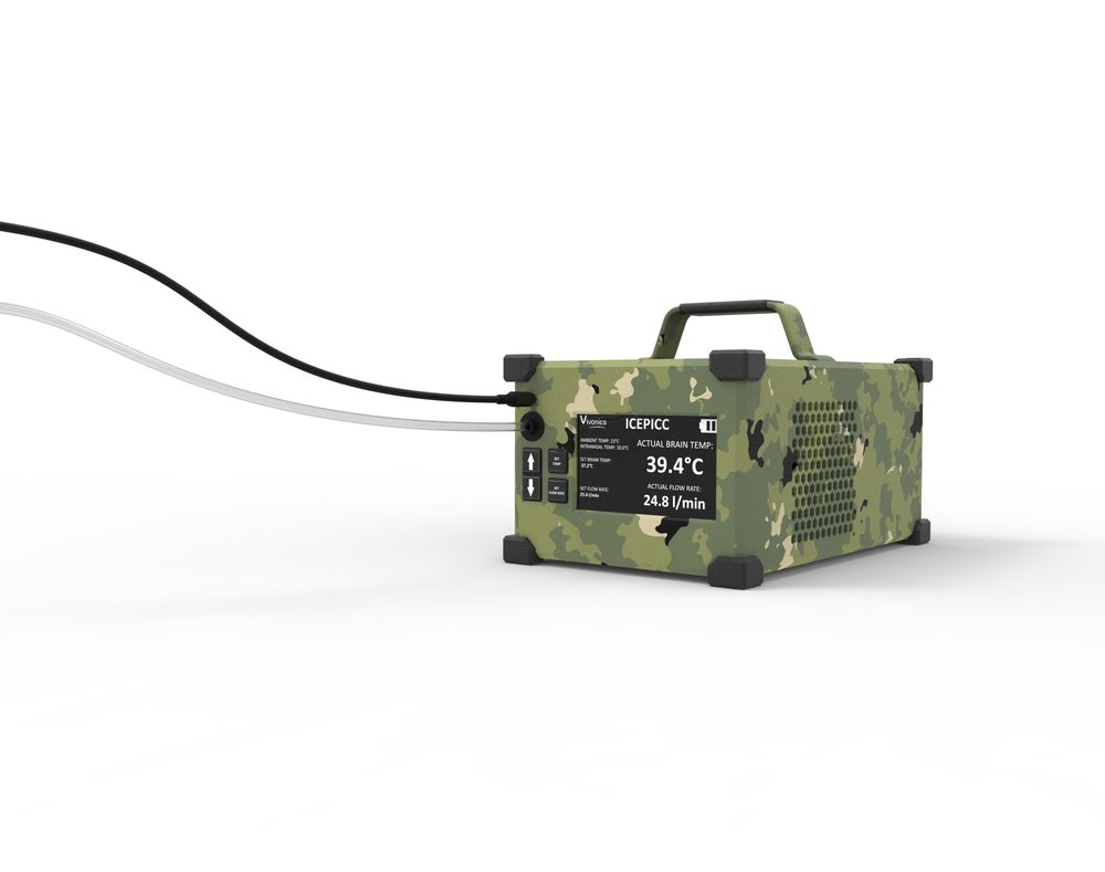 Intranasal Cooler for Encephalopathy Prevention In Combat Casualties (ICEPICC)