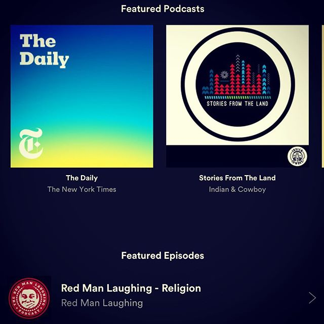 Still getting used to this podcast love from Spotify. If you use Spotify, look for us inside your app & subscribe!