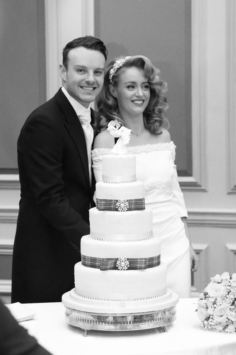 'Everyone raved about our wedding cake and we loved it too. Thanks again Brogan.'   - Patricia & Chris