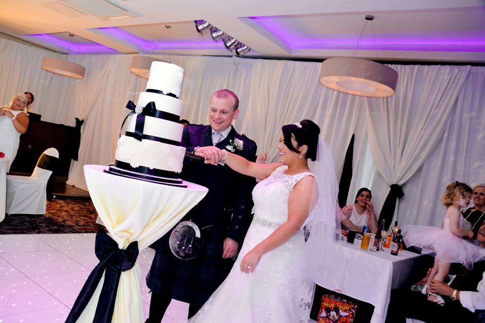 'The cake was amazing! Was perfect and tasted amazing too. Thank you.'   - Dannielle & David