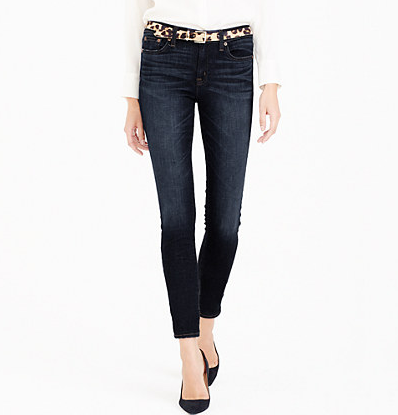 Jcrew Toothpick jean in flint