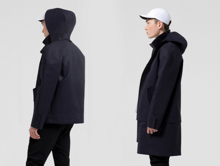 FULLER modular storm jacket