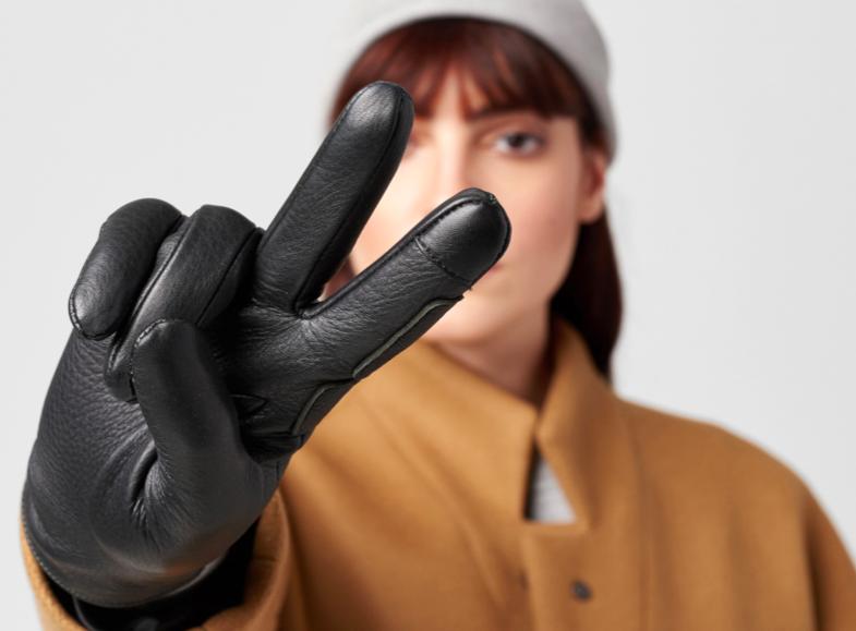 ASCHEN women's deerskin gloves