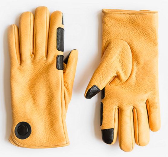 HOUSTON men's deerskin gloves