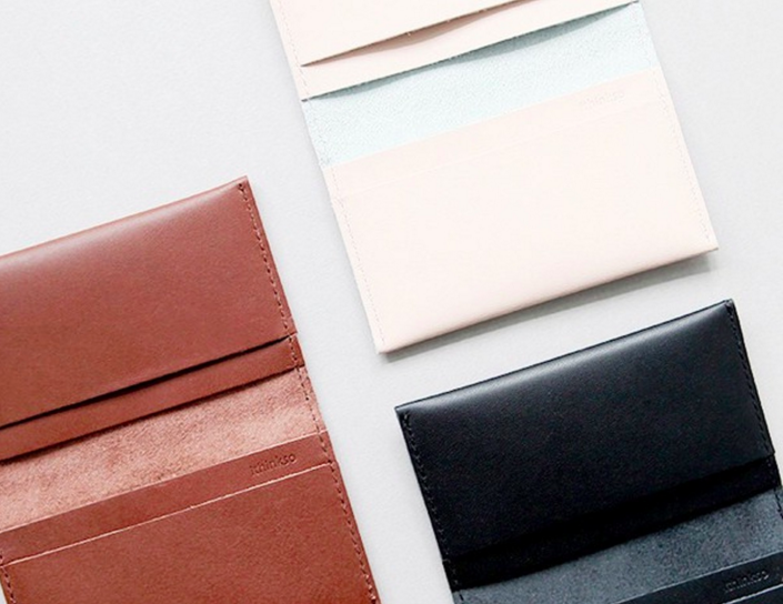 Poketo: Minimalist Leather Wallet