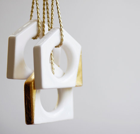 Loop Design Studio Etsy Shop: Ceramic ornaments