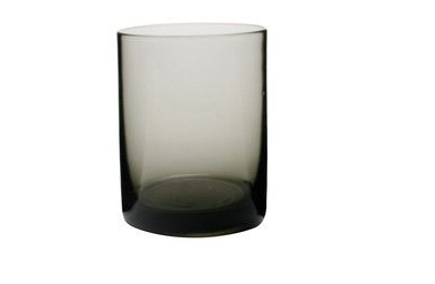 Canvas Home: Maryclare tumbler in smoked