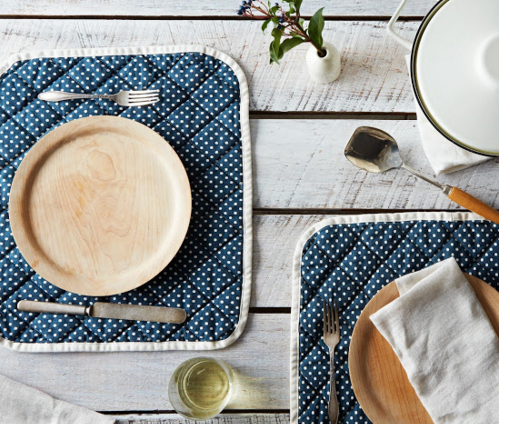 Food52: Quilted Placemat