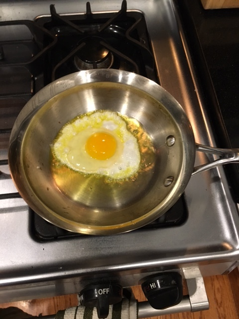 This is the perfect size pan for just one egg