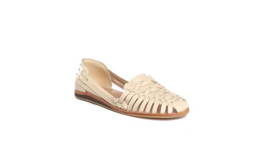 Nisolo: Ecuador Huarache Sandal in Bone