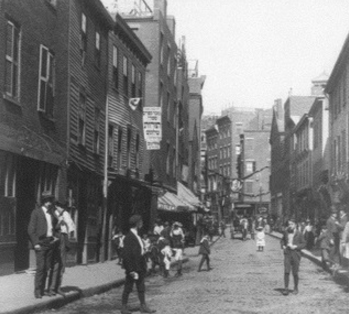 North End of Boston 1910