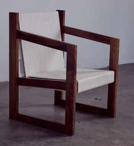 Chair No. 2 in walnut