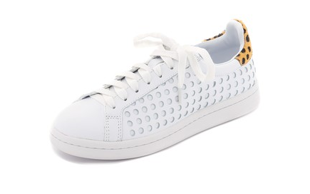 LOEFFLER RANDALL: Zora perforated sneaker