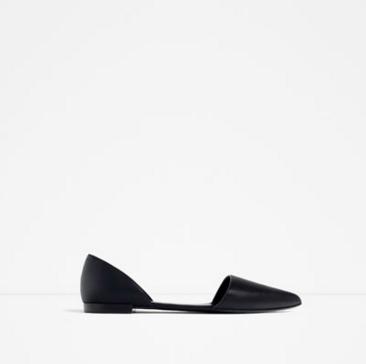 Flat d'orsay shoe