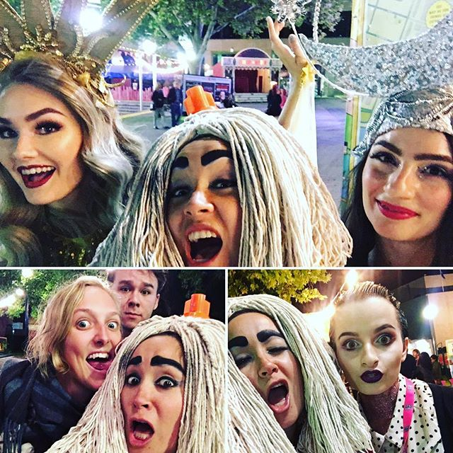 Last few #yetiselfie pics for @fringeworldperth, feat. the beautiful Sun & Moon ladies, some gorgeous fans, and the wonderful cabaret pixie @feelingcalledtwee! We've had an absolute ball being back in Perth - but the doors to the Dive Bar are closing tonight! Last chance to delve into the mop-loving madness, 9.45pm at the Circus Theatre. #fringeworld #lovemyperth #perthpop #justanotherdayinWA #fringefamily #cabaretlife #yetis #yetilove #deadmanlabel #yetisightings #yetisdemondivebar #perthfringe #northbridge #moplove #mopfetish #behindthescenes #tourlife #LASTSHOW