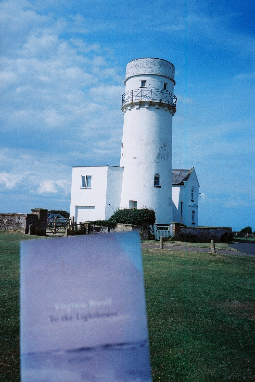 To the Lighthouse! Tally ho! and don't spare the 'oses!