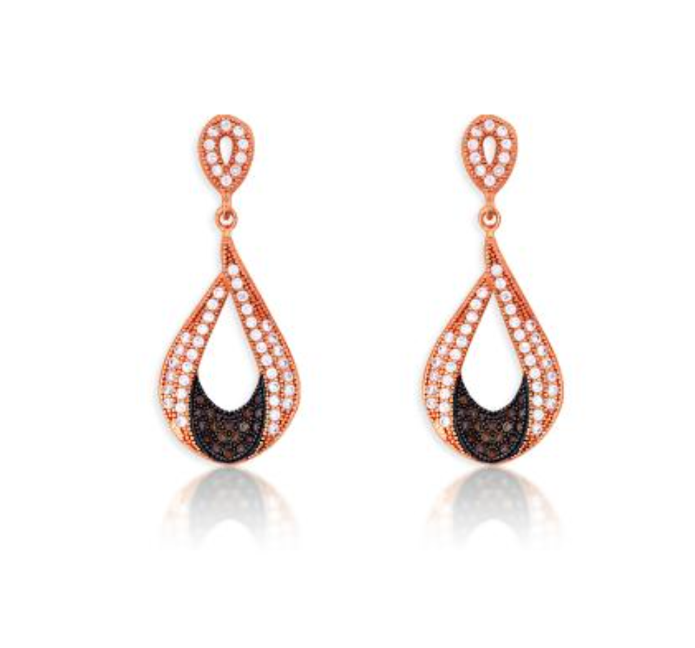 a80dc18dca144a Rose Gold over Silver Black & Pink Micro Pave Crystal. Screen Shot  2015-11-19 at 1.57.08 PM.png
