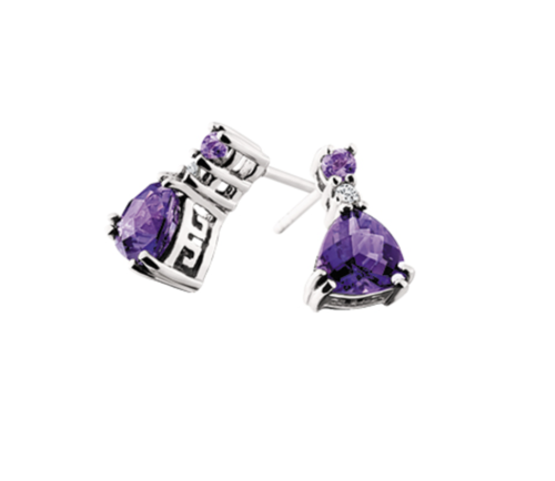 products stone barnes colored trillion earrings jewelers from