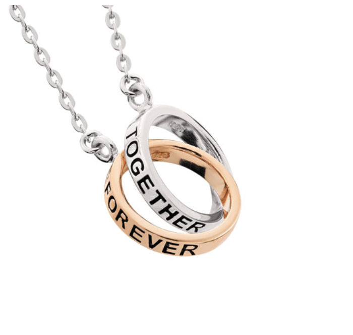 products necklace heart silversideheart faith dana forever grande