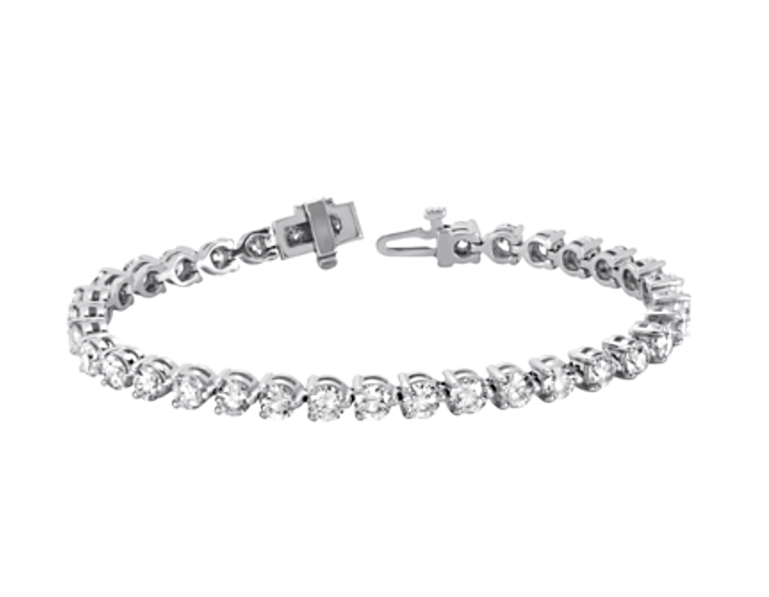 14kt White Gold 2 Carat Diamond Bracelet Condon Jewelers