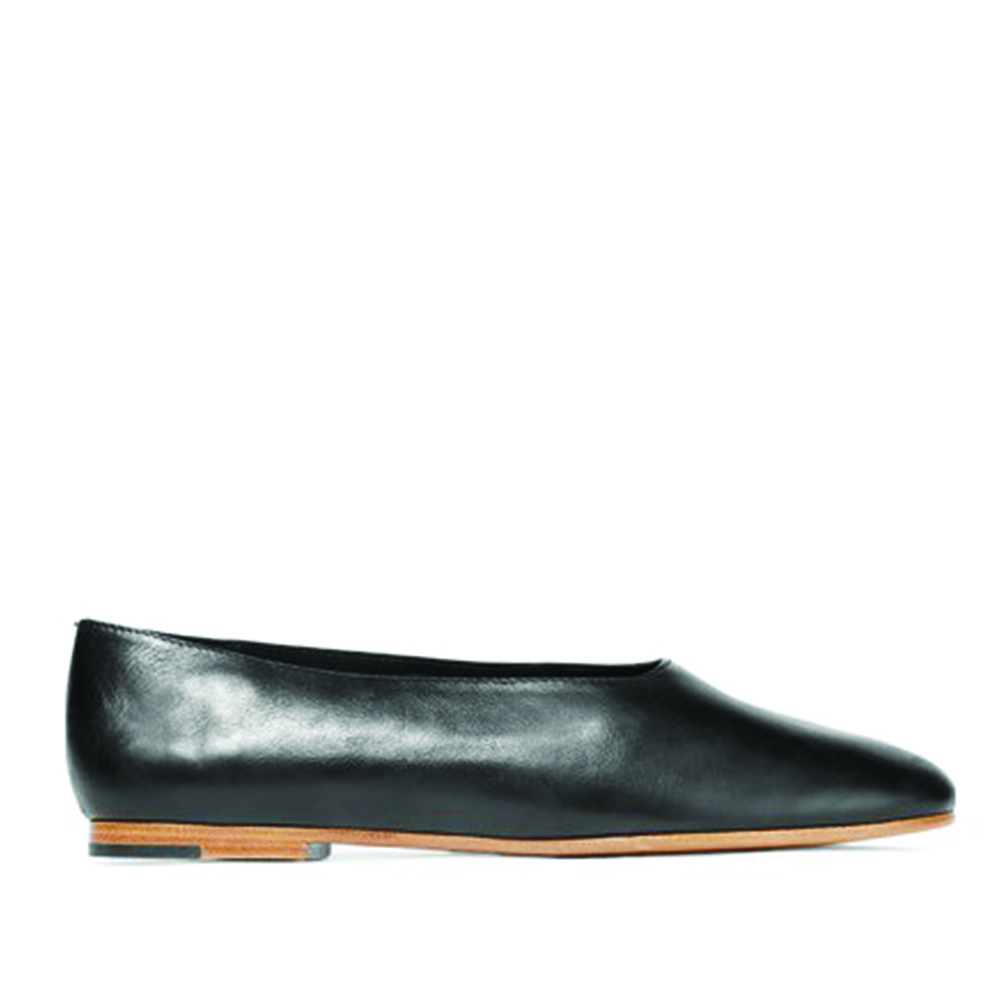 VINCE Maxwell Leather Flat
