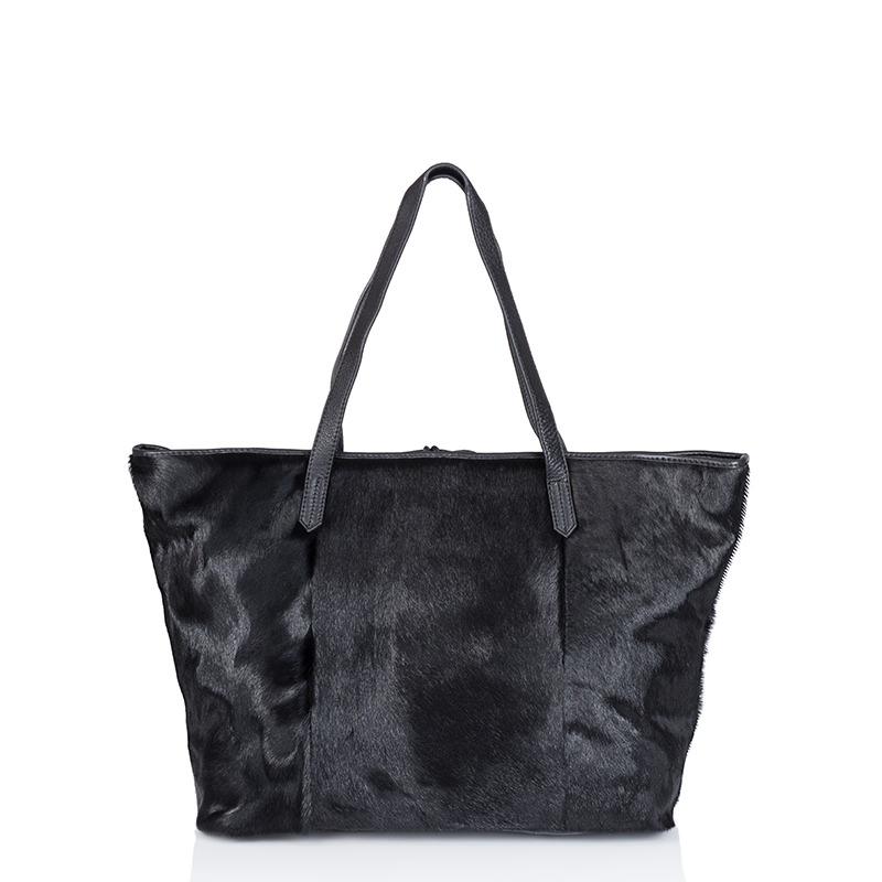 CHRISTOPHER KON  PONY HAIR TOTE