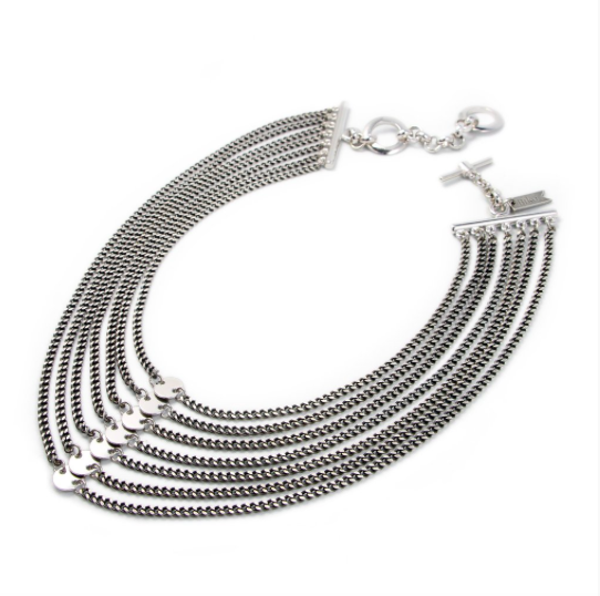 Biko Athena Collar - Silver