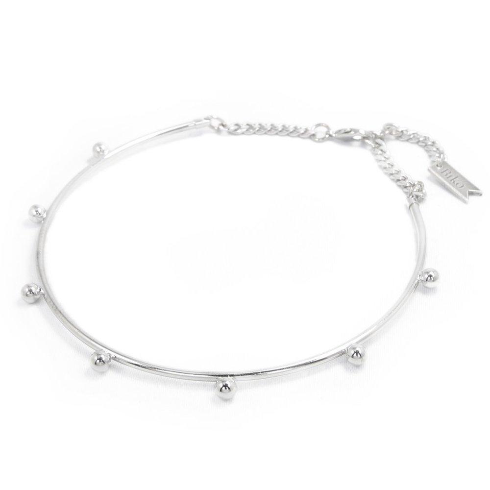 Bikoe Polka Dot Choker - Luxe Silver