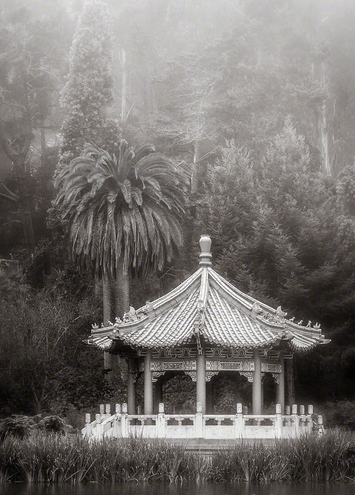 Chinese Pavilion, Morning Fog